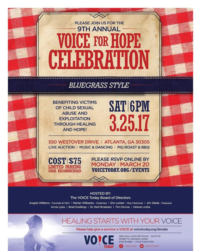 GET YOUR TICKETS TODAY  VOICE FOR HOPE CELEBRATION TOhellip