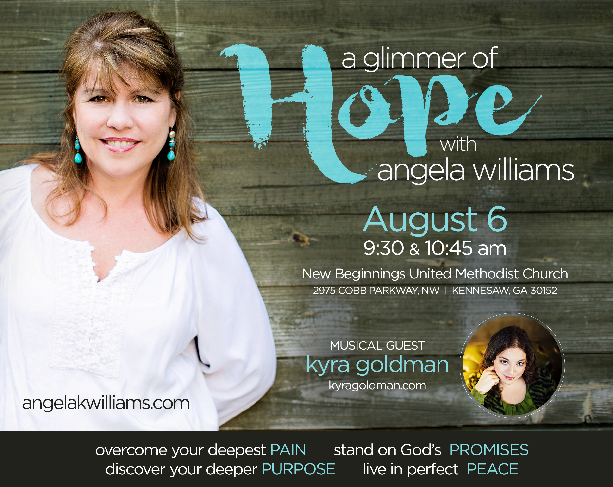 Events - Angela Williams | Founder of VOICE Today and The